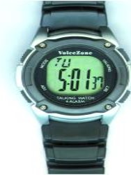 Four Alarm Talking Watch & Stopwatch