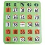 Bingo Easy Reader Finger Tip Cards