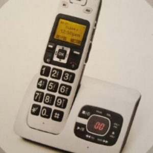 Cordless Phone with Large Number Keypad