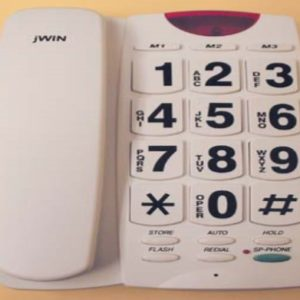 Giant Button Affordable Phone
